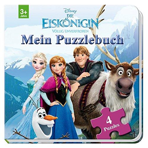 Disney Die Eiskönigin  Mein Puzzlebuch  Mit 4 Puzzles Zu Je 12 Teilen
