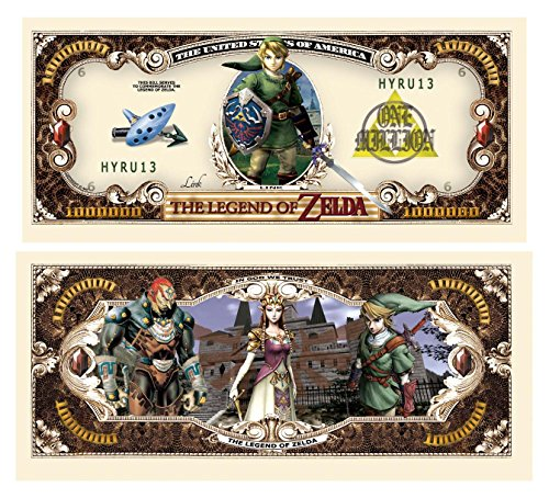 American Art Classics Legend of Zelda Million Dollar Bill (10/$4.99) by AAC