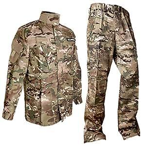 SHENKEL Multicam camouflage top and bottom set XL (japan import)