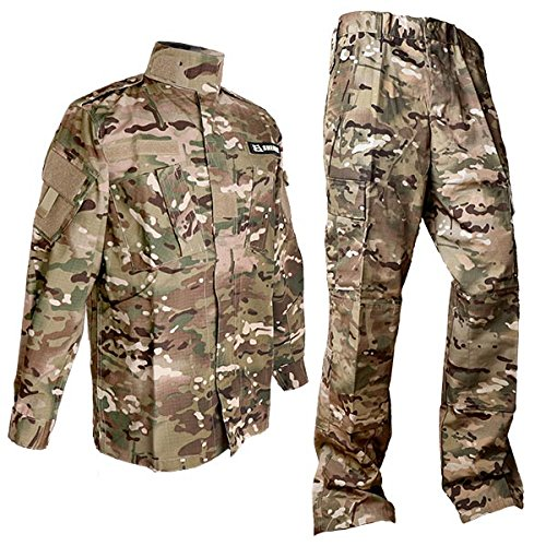SHENKEL Multicam camouflage top and bottom set XL (japan import) bdu-cm02-XL