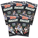 Topps Trading Cards - Topps 2013 Soccer - PACKS (5 Pack Lot)