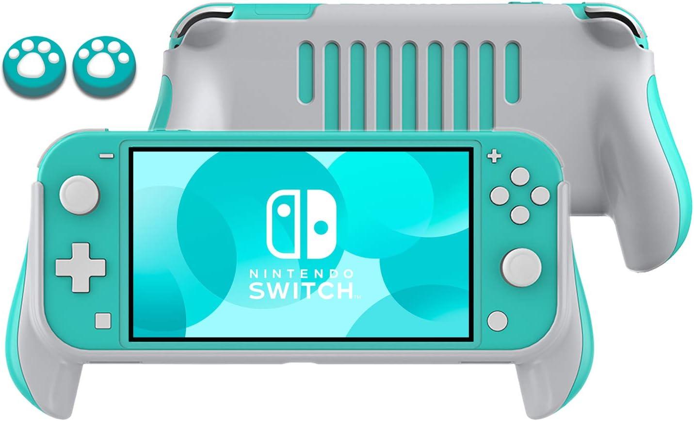 Lammcou Soporte de mango para empuñaduras Nintendo Switch Lite y tapas de agarre para pulgar Cat Claw Design Nintendo Switch Lite Grips - azul: Amazon.es: Videojuegos