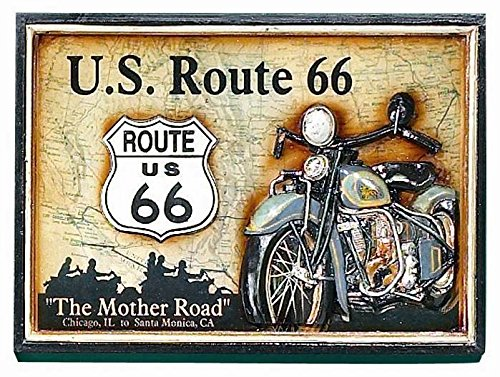 RAM Gameroom Framed Pub Sign For Route 66 Has Three