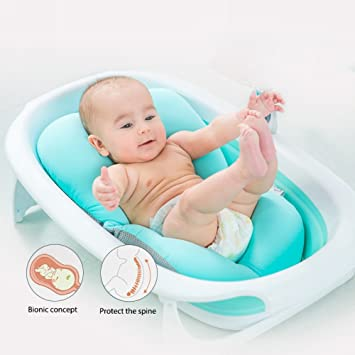 Amazoncom Safer Infant Bath Pad Baby Bath Mat Soft Bath Seat