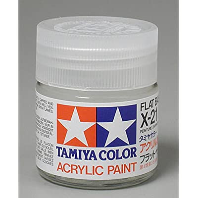 Tamiya TAM81021 Acrylic X21 Flat Base: Toys & Games