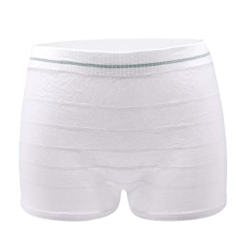 331ad395dbfba Mesh Postpartum Underwear High Waist Disposable Post Bay C-Section Recovery Maternity  Panties for Women