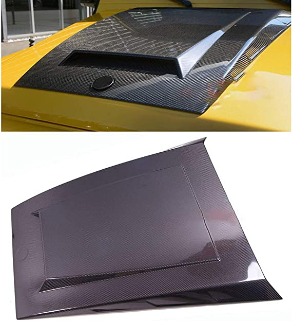 NA Accesorio de Campana extractora de Campana de Fibra de Carbono Real Estilo B para Benz Clase G W463 G63 G65 G500 G55 2012 UP M133: Amazon.es: Hogar