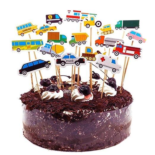 colinsa Cake Topper Tartas Decoraciones para Cumpleaños ...