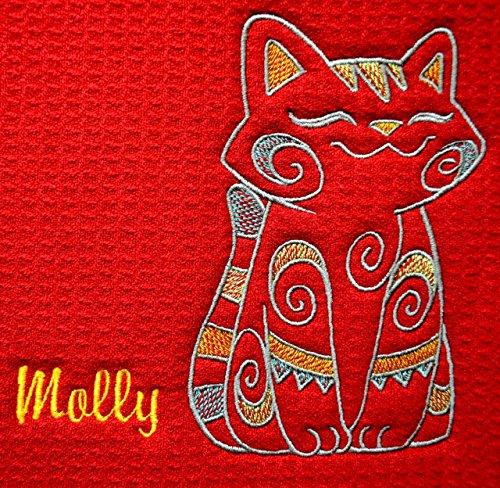 Personalized Pet Feeding Mat, Pet Placemat, Cat Litter Mat, Cat Bowl Mat, 18