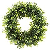 Artificial Christmas Wreath by Pure Garden UV Resistant 115-Inches (Small Image)