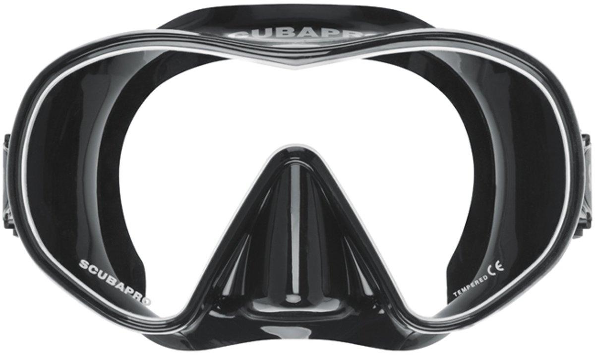 ScubaPro Solo Scuba Snorkeling Dive Mask, BK B002GX6PGW