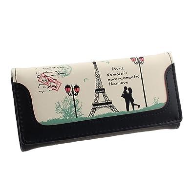 Chianrliu® para Mujer Nuevo Torre Eiffel De París Carpeta ...