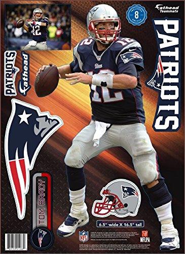 UPC 889759010597, NFL New England Patriots Tom Brady Teammate Player Fathead Wall Decal