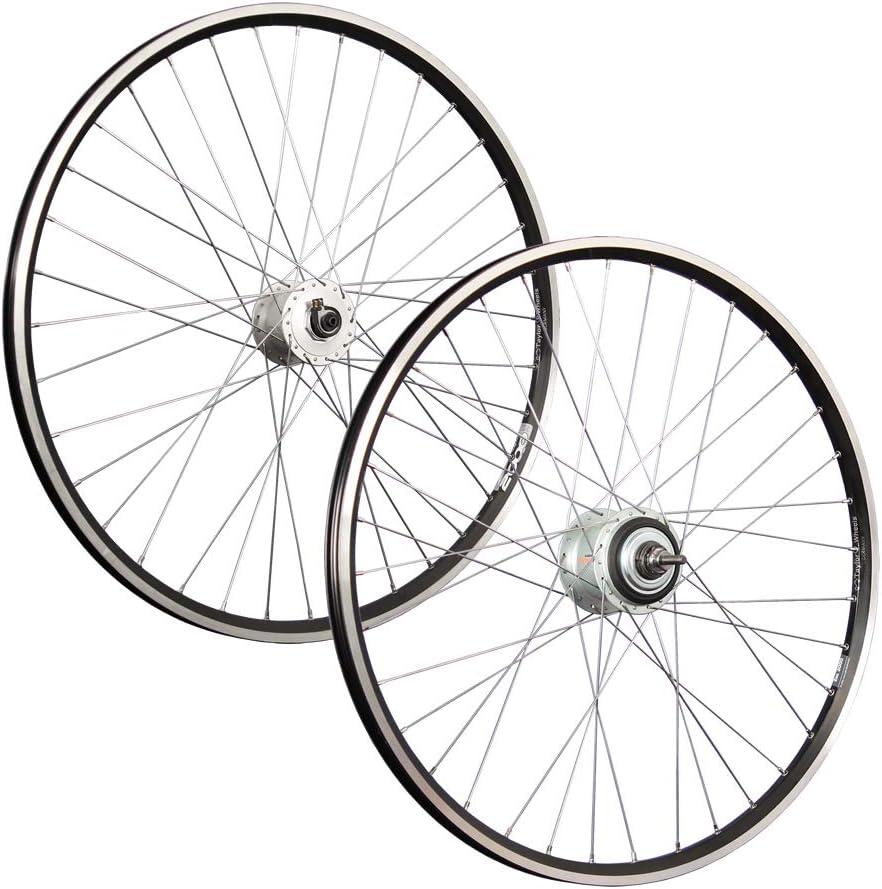 Taylor-Wheels 28 pouces ensemble roues vélos moyeu dynamo Shimano Nexus Inter-8