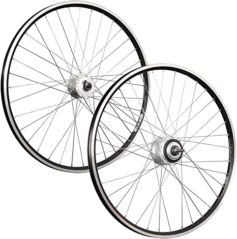 Taylor-Wheels 28 Pulgadas Juego Ruedas Bici con Dinamo de buje ...