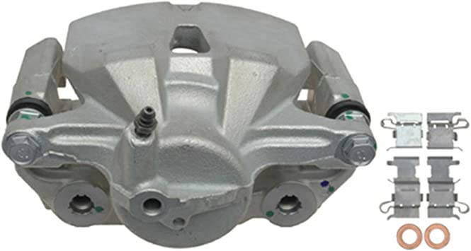 Disc Brake Caliper-Friction-Ready New Caliper with Bracket Front-Left//Right