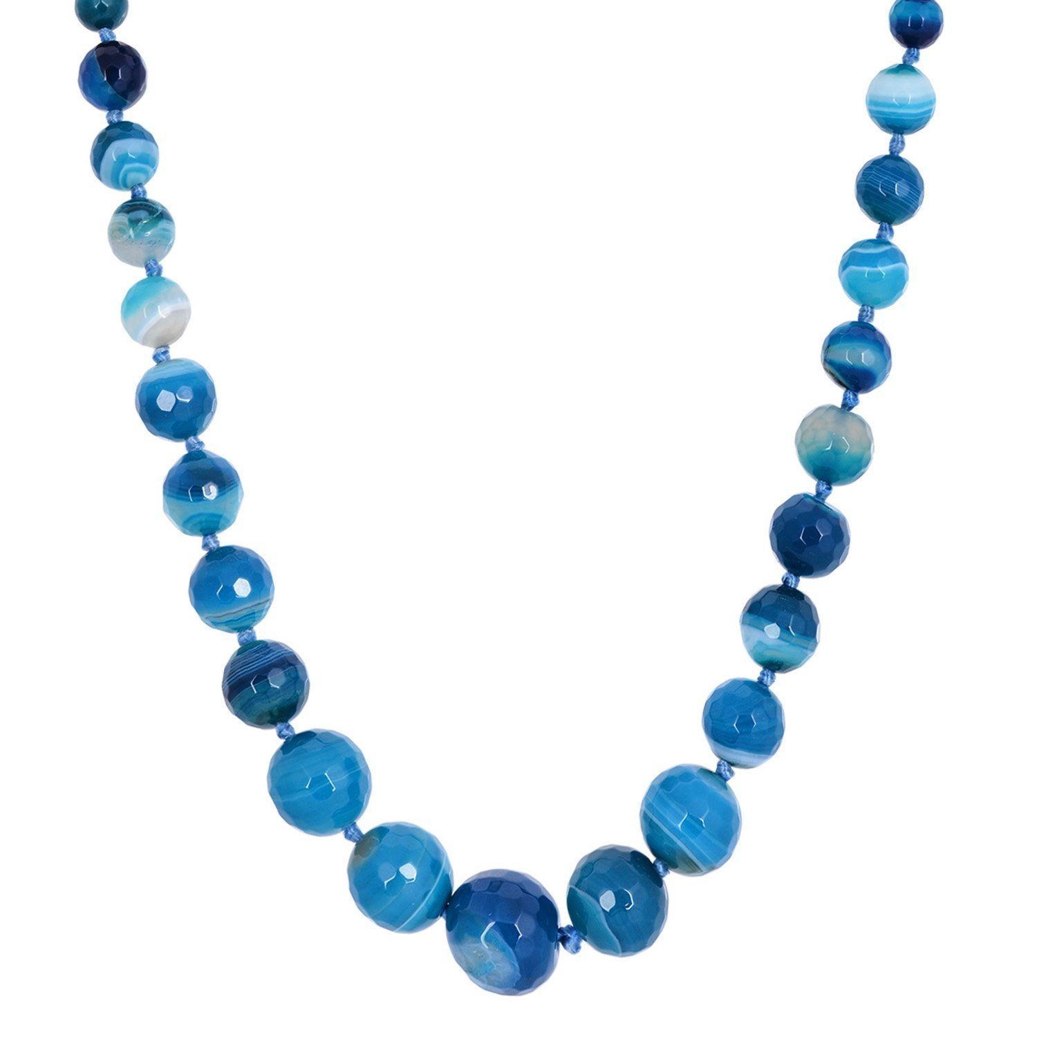 s claire beads confetti us necklace pendant blue shaker bead