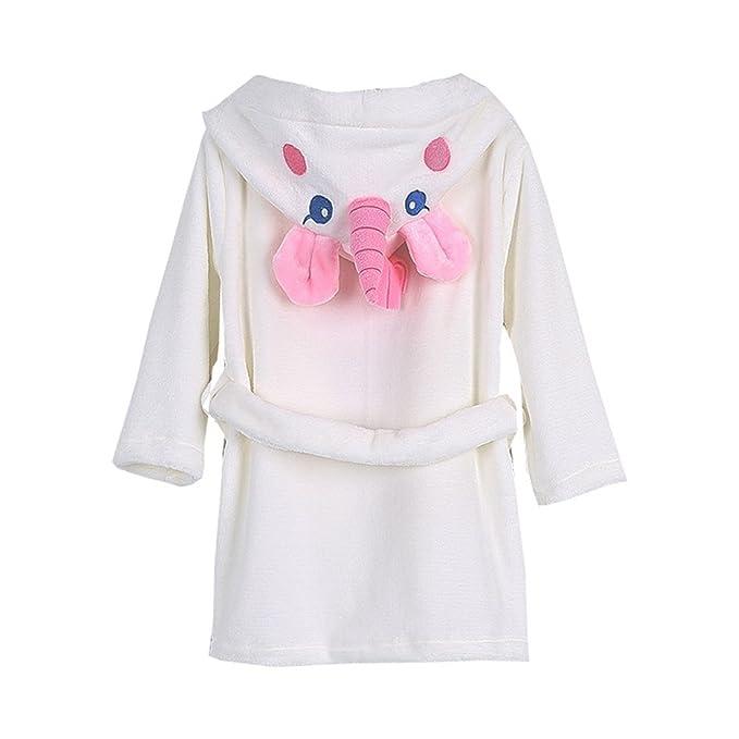 Amazon.com: Albornoz para bebé, para niñas, de algodón suave ...