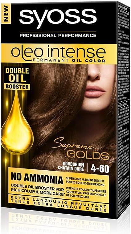 Syoss Color Oleo Intense 4-60 - Tinte para el pelo, color ...
