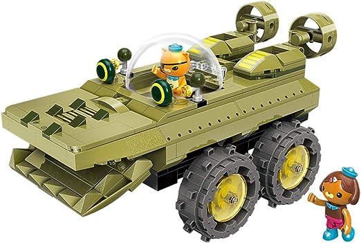 Q-Man Octonauts GUP S Polar Exploration Vehicle Playset With Lights /& Music