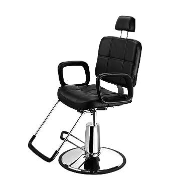 seababyhouse reclinable silla de peluquería Styling Salon adhesivo ...