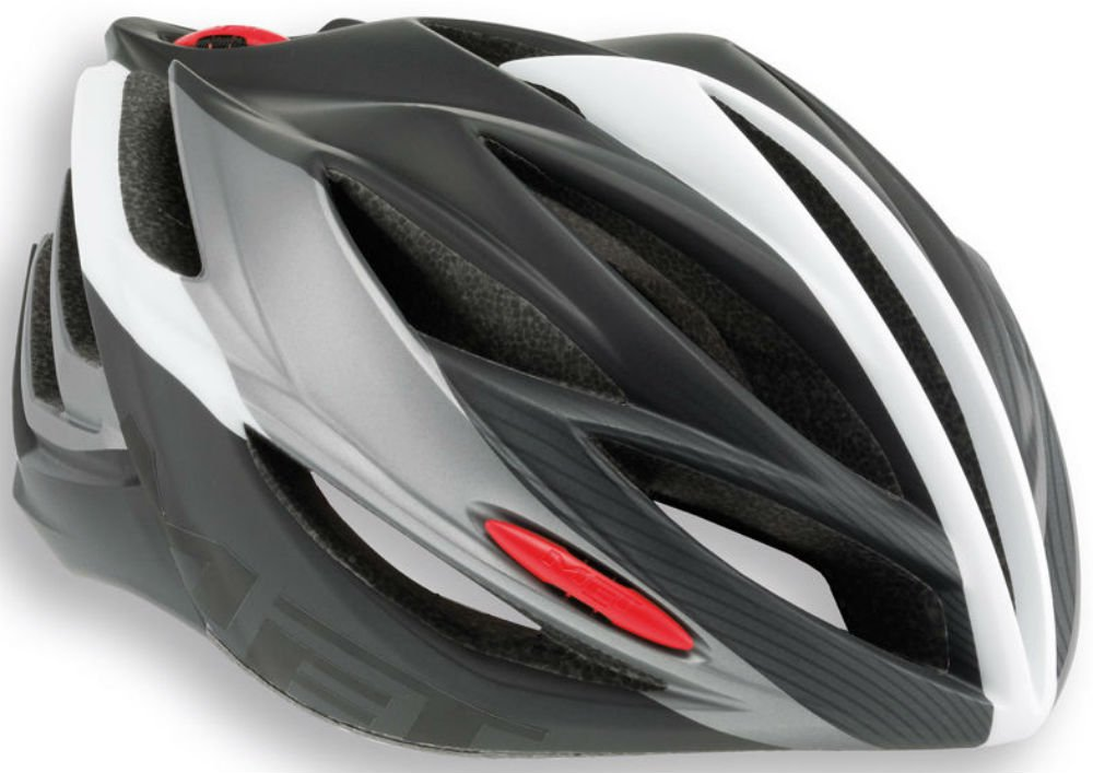 Ciclismo de carretera casco MET Forte, color - White ...