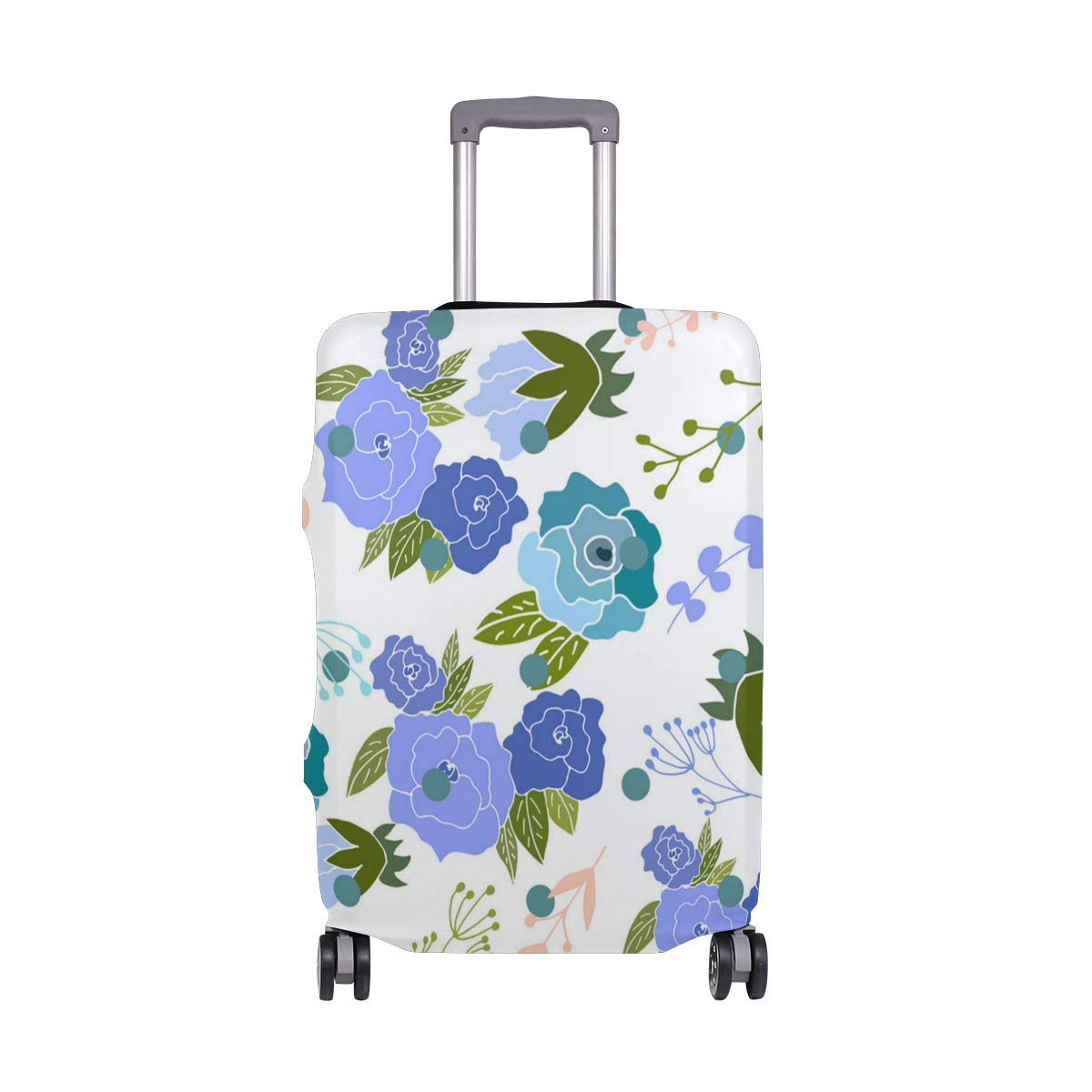Rose Rings For Women Traveler Lightweight Rotating Luggage Protector Case Can Carry With You Can Expand Travel Bag Trolley Rolling Luggage Protector Case