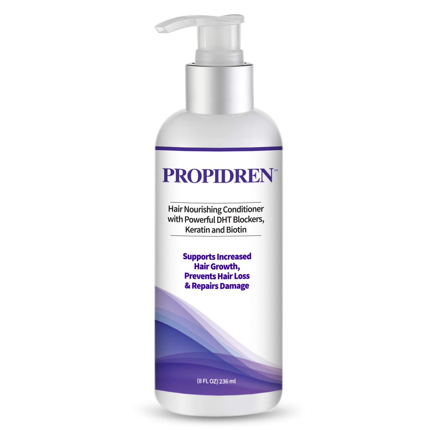Hairgenics Propidren Hair Growth Conditioner with Keratin, Collagen and Proteins to Moisturize Hair, Biotin for Hair Growth, and Potent DHT Blockers to Prevent Hair Loss and Help Regrow Hair. by Pronexa