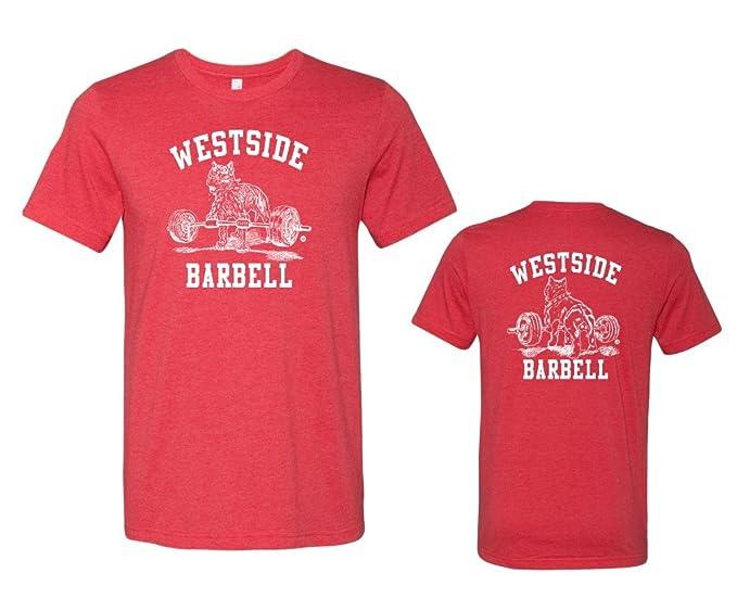 Westside barbell Premium Nitro T-Shirt - Heather Red