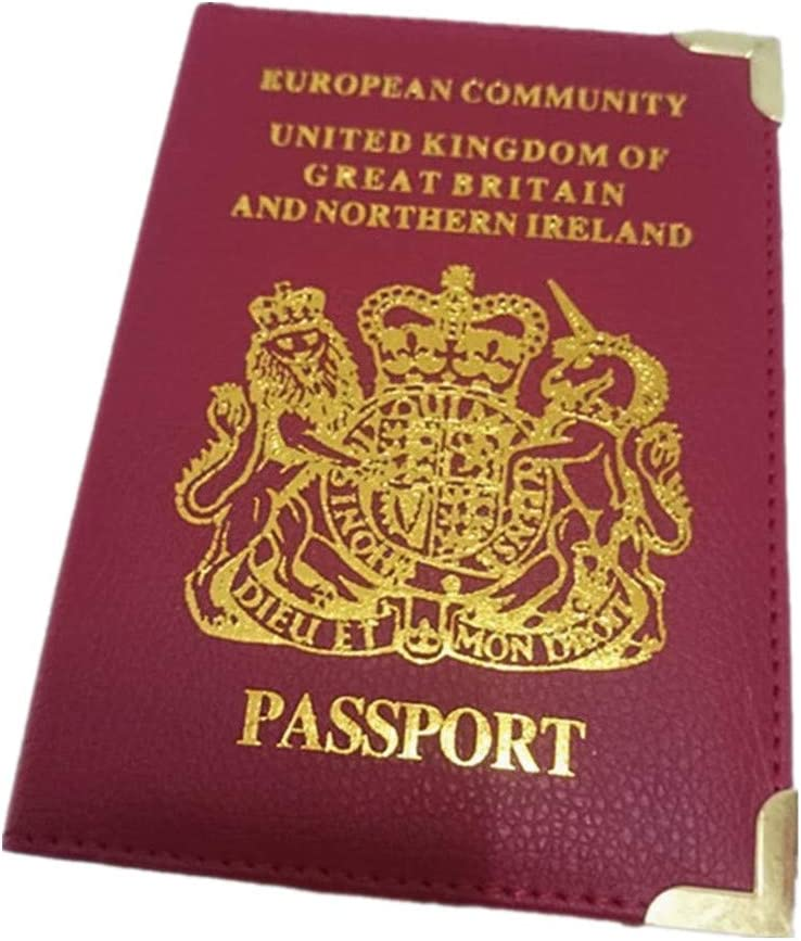 1 Pcs Transparent Passeport Prot/éger Couverture Accessoire De Voyage Clear Passeport Protecteur Dossier par TheBigThumb