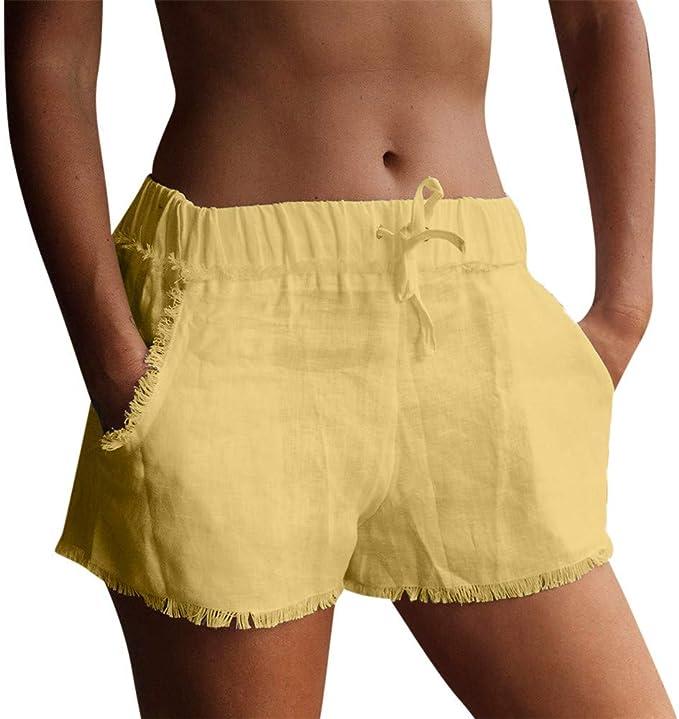 FELZ Pantalones Mujer Pantalones Cortos Deporte Pantalones Cortos ...