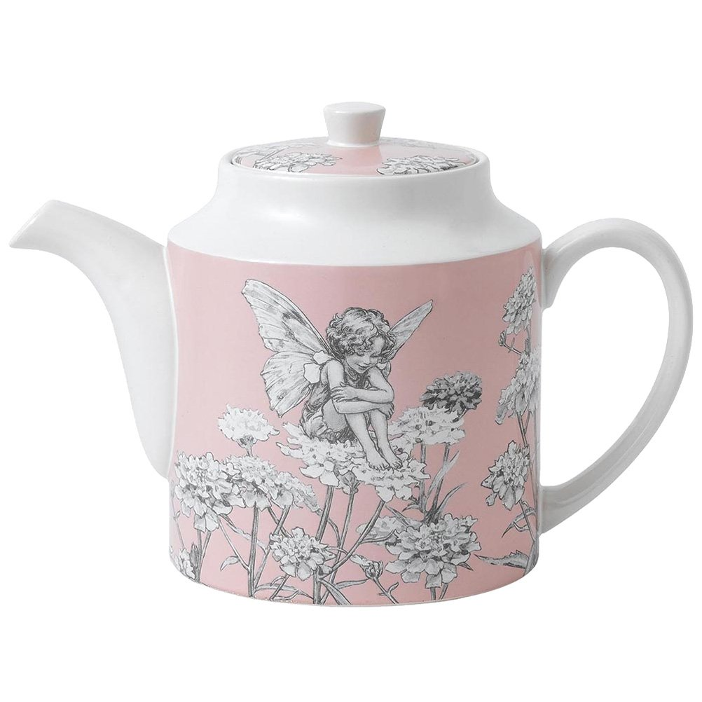 Candytuft Flower Fairies Teapot by Angel