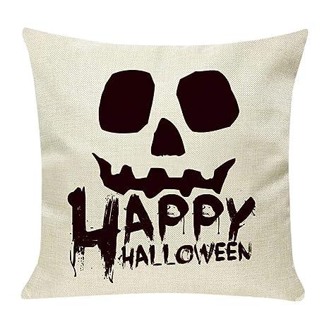 MAYOGO Accesorios de Halloween Fundas Cojines Beige 45x45 ...