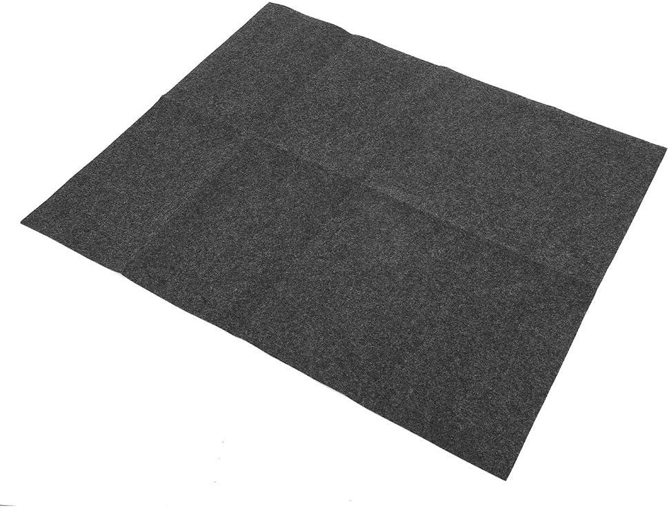 Oumefar Material de poliéster Antideslizante Resistente al Desgaste Inferior de PVC 36x30 Pulgadas Alfombrilla para Lavabo Paño para el hogar