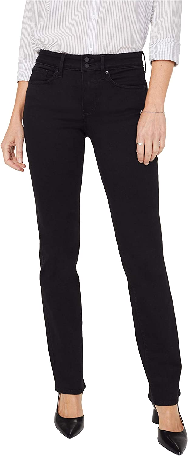 NYDJ Women's Petite Special price Marilyn Be super welcome Straight Jeans Shank with Wai Double