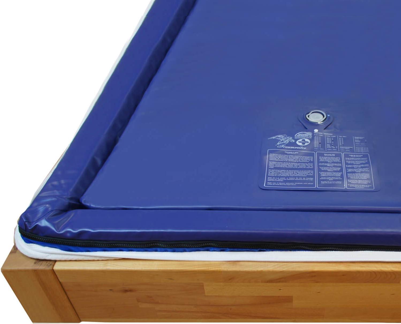Platz 3 – Traumreiter Wasserbettmatratze Dual 90×200 für Wasserbett 180x200