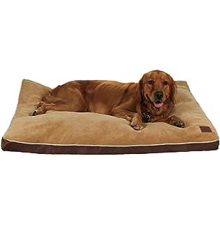 Colchoneta para perros, cama para mascotas ortopédica, Qiaoqi Memory impermeable de espuma para mascota