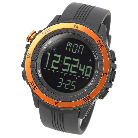 LAD WEATHER Reloj Altímetro Barómetro Brújula Pronóstico del Tiempo Deportes Sensor Alemán (or)