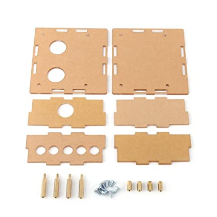For 6J1 Valve Tube PreAmplifier Board Acrylic Case Shell