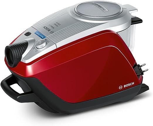 Bosch BGS51442 - Aspirador sin bolsa, 1400W, color rojo oscuro ...