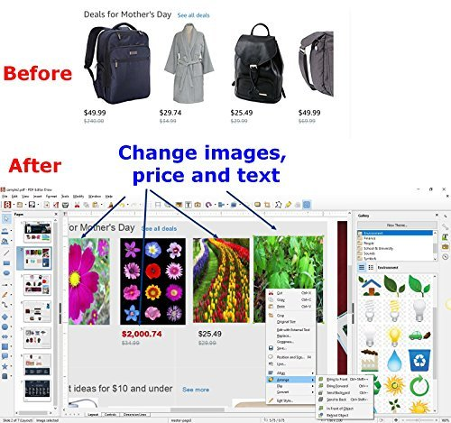 Seifelden Pdf Editor Edit  Create  Replace Text And Images  Protect  Add Comments To  Insert Digital Signatures In Pdfs 100  Compatible With Adobe Acrobat