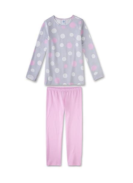 Sanetta niñas pijamas Set 2 Adolescentes pieza puntos largos chica de pijama - rosa: :