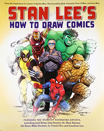 Stan Lee's How to Draw Comics: From the Legendary Creator of Spider-Man, The Incredible Hulk, Fantastic Four, X-Men, and Iron Man Jack Kirby Cover Art