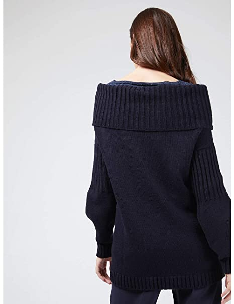 Motivi Damen Sweatshirt Blau blau M  Amazon.de  Bekleidung f3ef10e282f3