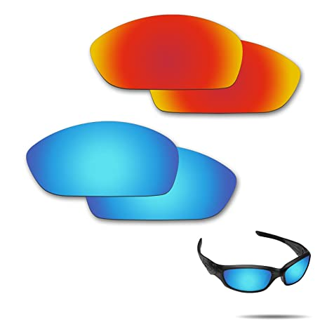 958f7f3594 Image Unavailable. Image not available for. Color  Fiskr Anti-Saltwater  Polarized Replacement Lenses for Oakley Straight Jacket ...