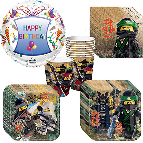 Lego Ninjago Party Pack -