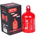 Tentock Outdoor Aluminium Camping Gas Fuel Oil Bottle Picnic Barbecue Motorcycle Emergency Petrol Storage Can