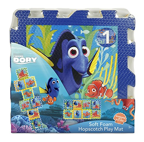 Disney Finding Dory Foam Hopscotch Mat (8 - Mat Scotch