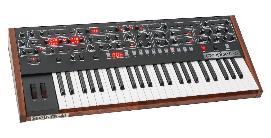 Sequential Prophet-6 6-Voice Polyphonic Analog Synthesizer by Sequential