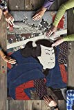 Actor Miyamoto Musashi Japanese Wood-Cut Print (20x30 Premium 1000 Piece Jigsaw Puzzle, Made in USA!)